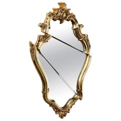 Wall Mirror Classic Frame Gold Rococo Italian Contemporary Design