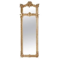 Wall Mirror in Rococo Style, Austria, circa 1830