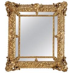 Wall Mirror Italian Manufacture, 18th Century