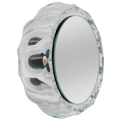 Wall Mirror 'Saturn 146a' Vintage Style 'Glass Frame'