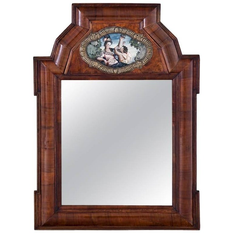 Wall Mirror, Southern Germany, Early 18th Century For Sale
