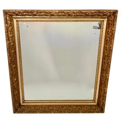 Wall Mirror with Gilt Frame