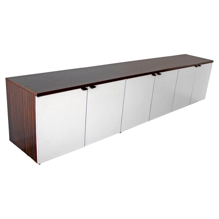 Wall Mount Credenza after Florence Knoll Mid-Century Modern, 1960s For Sale