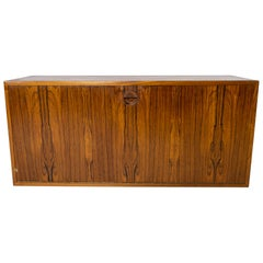 Wall-Mounted Cabinet in Rosewood of Danish Design from the 1960s
