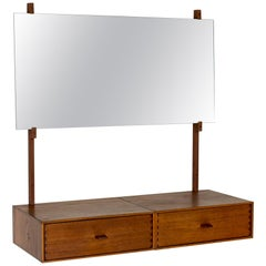 Wall Mounted Dressing Table from Uno and Östen Kristiansson for Luxus, Sweden