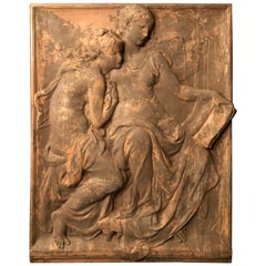 Wall Mounted Sculpture, Antic Style