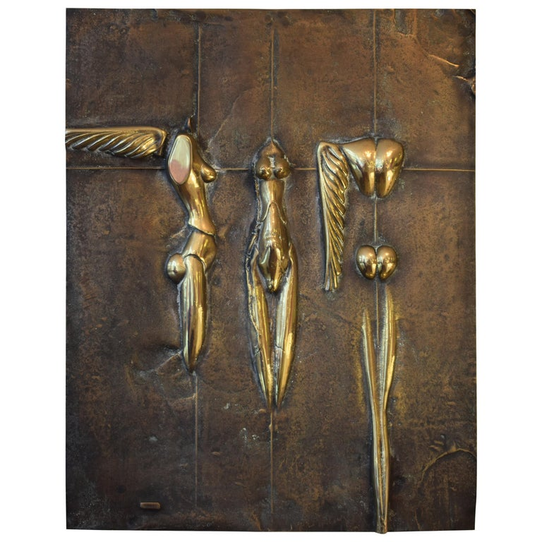 Wall Mounted Sculpture For Sale