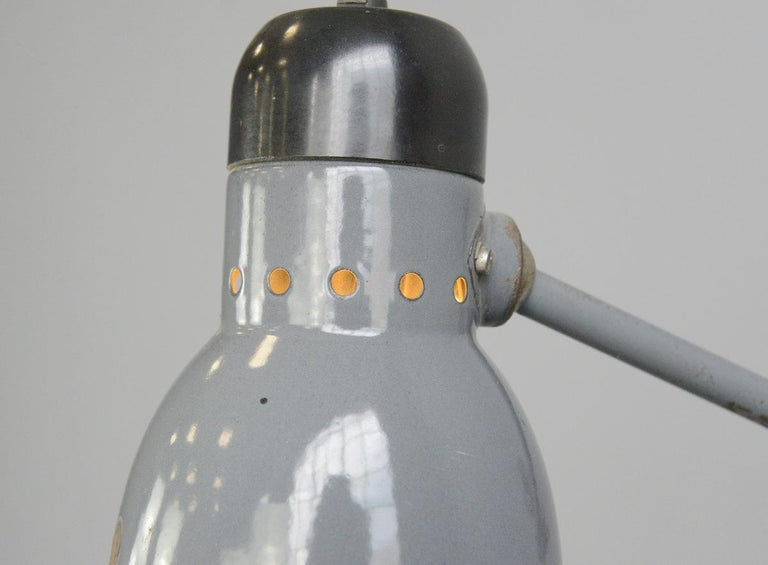 Wall-Mounted Task Lamp by Kandem, circa 1930s In Good Condition For Sale In Gloucester, GB