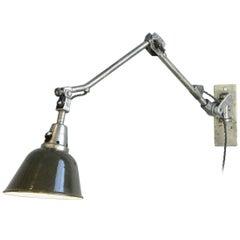 Wall Mounted Task Lamp by Midgard, circa 1940s