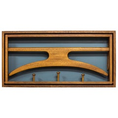 Wall-Mounted Valet in Teak by Hoff & Østergaard, Denmark, 1950s