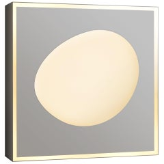 Wall Sconce FC01 Design Florencia Costa Italy Limited Edition Varnished White