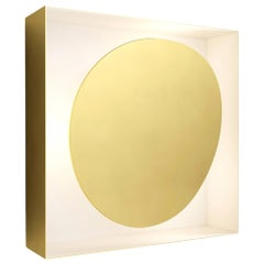 Wall Sconce FC02 by Florencia Costa Polished Brass Italy 2020 Limited Edition