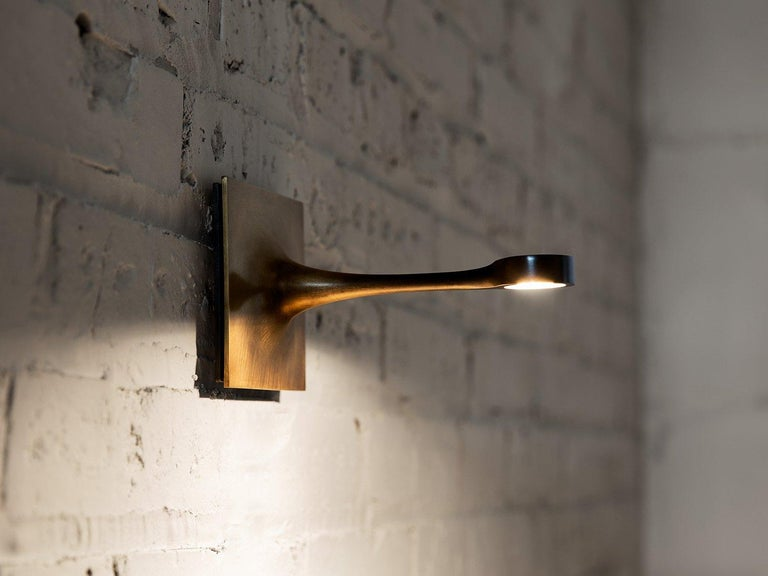 Wall Sconce with a Long Taper 4