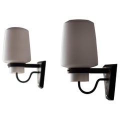 Wall Sconces by Georges Candilis, France, 1960s