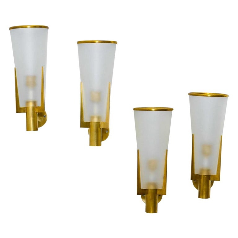 Wall Sconces by Stilnovo, Italy For Sale