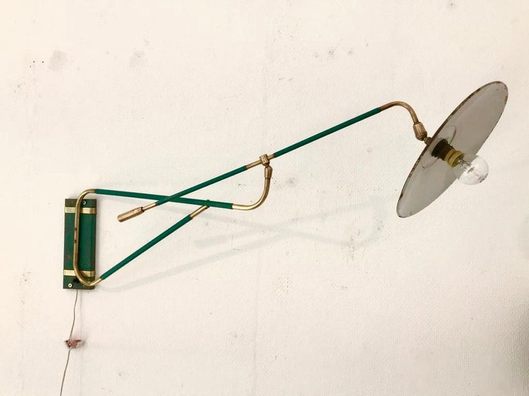 Wall Sconces, French, 1950s For Sale 4