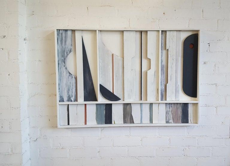 Modern Wall Sculpture Frieze Panel by Paul Marra For Sale