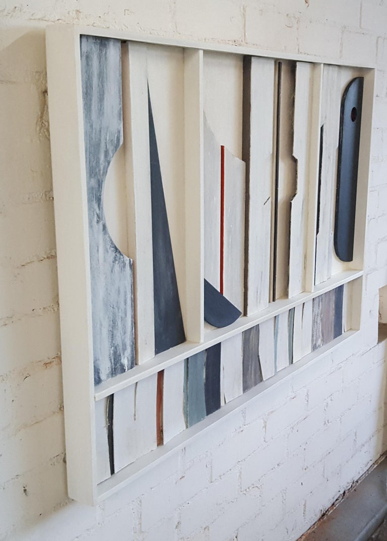 American Wall Sculpture Frieze Panel by Paul Marra For Sale