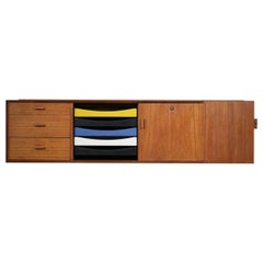 Wall Sideboard Arne Vodder from the 60s Danish Scandinavian Design Sibast