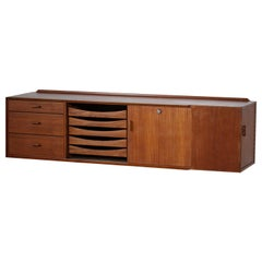 Wall Sideboard Arne Vodder from the 60s