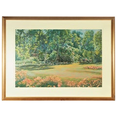 "Wall-Sized Carson Gladson Signed and Numbered Lithograph, ""Eden"""
