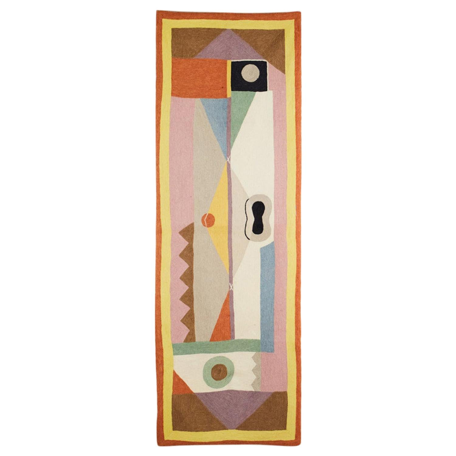 Wall Tapestry after Sonia Delaunay, 1930's