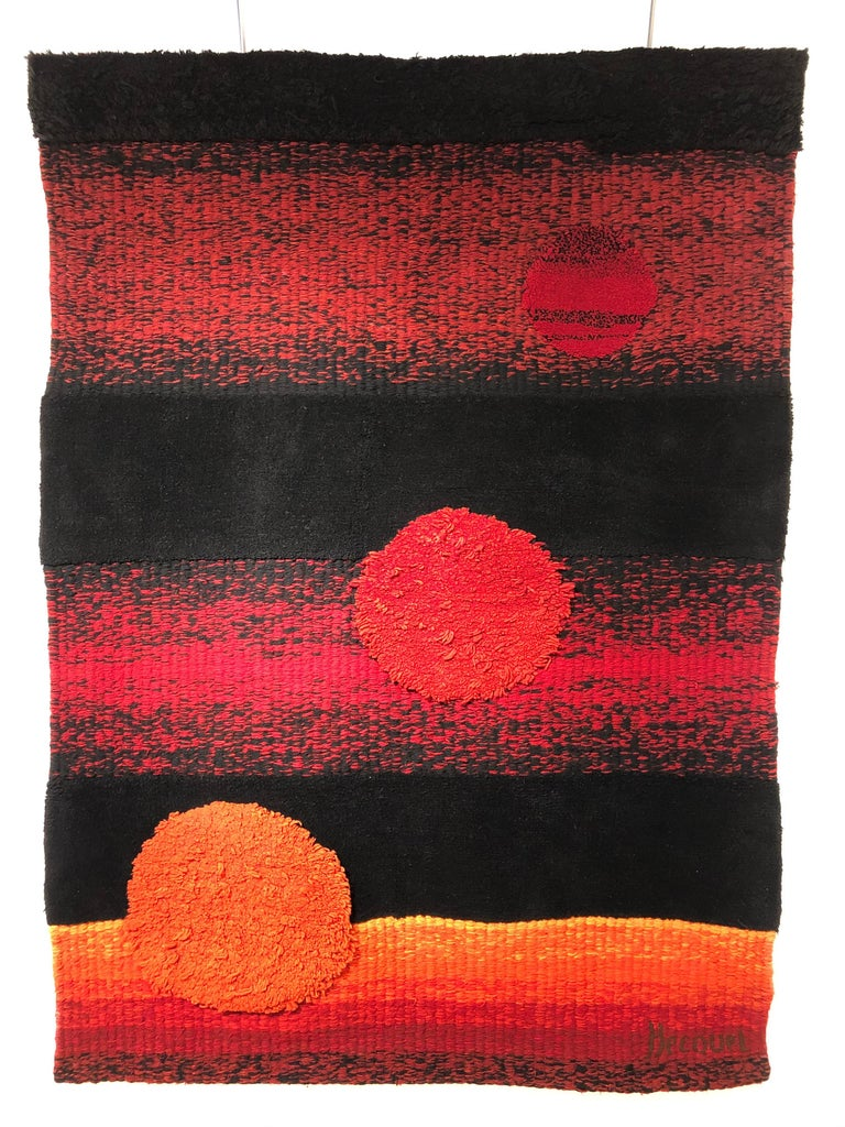 Wall Tapestry by Philippe Hecquet, 1970 For Sale 11