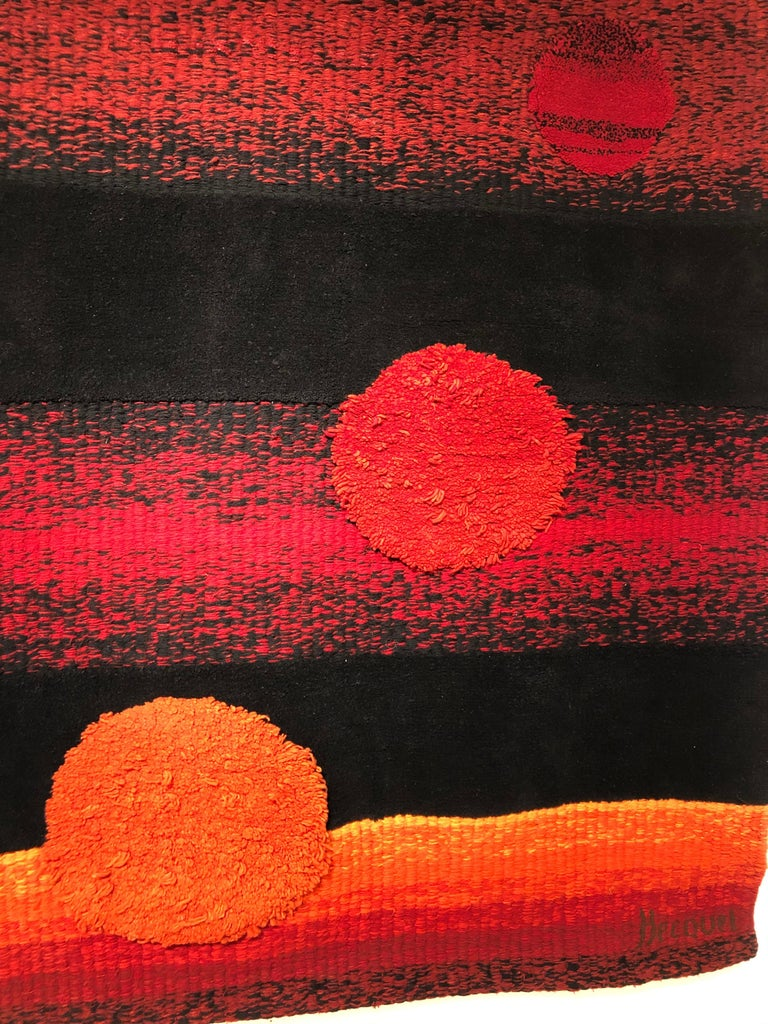 Wall Tapestry by Philippe Hecquet, 1970 For Sale 1