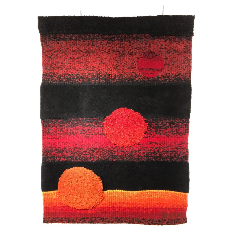 Wall Tapestry by Philippe Hecquet, 1970 For Sale