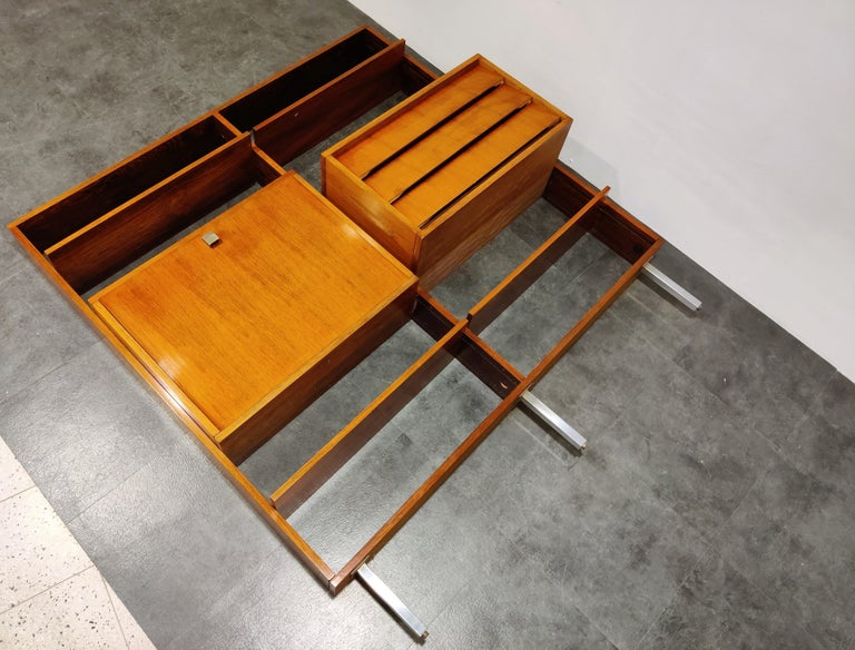 Belgian Wall Unit by Alfred Hendrickx for Belform, 1960s For Sale