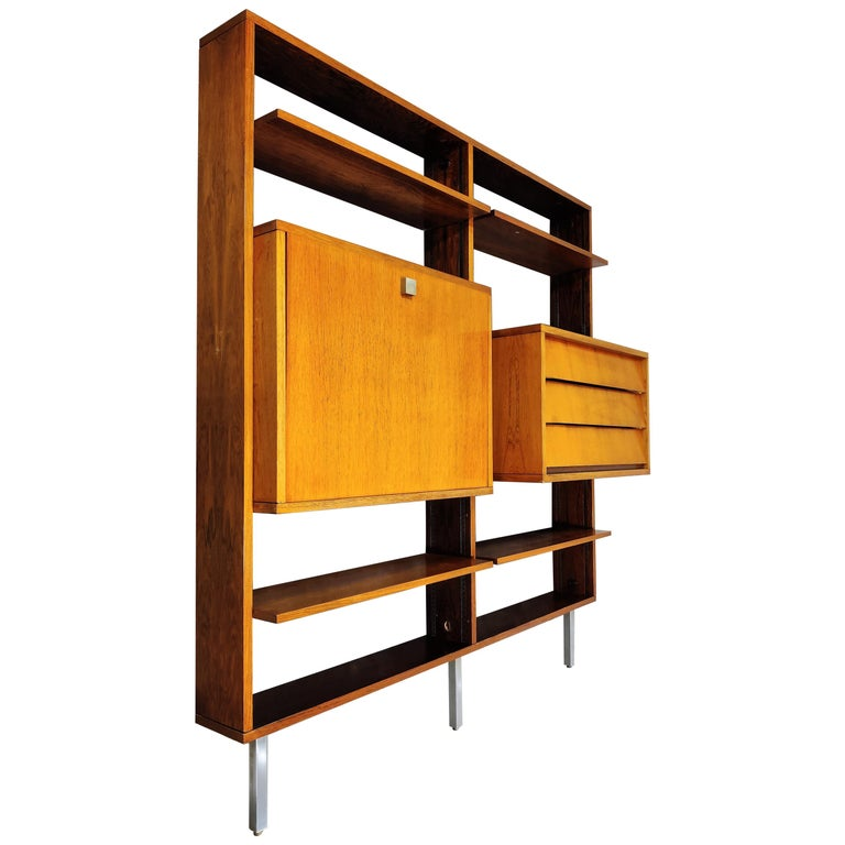 Wall Unit by Alfred Hendrickx for Belform, 1960s For Sale