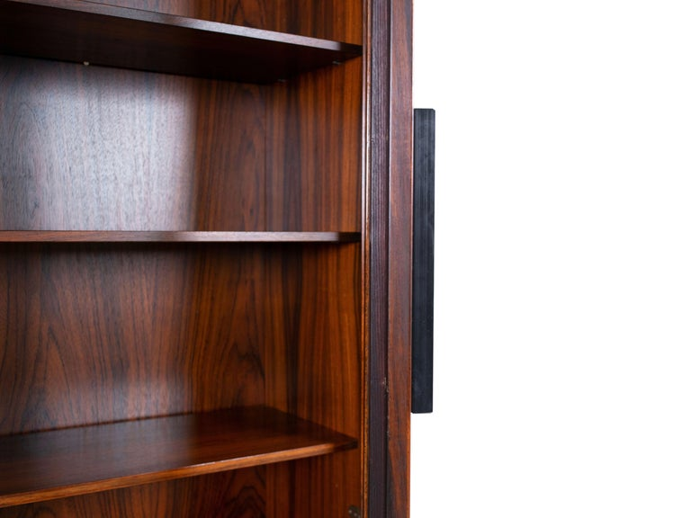 Wall Unit by Ib Kofod-Larsen for Faarup Møbelfabrik in Rosewood, Denmark 1960s For Sale 3