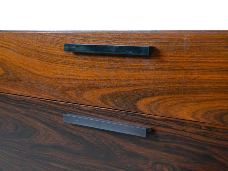 Wall Unit by Ib Kofod-Larsen for Faarup Møbelfabrik in Rosewood, Denmark 1960s For Sale 2