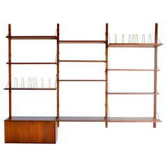 Wall Unit by Torbjorn Afdal in Teak, circa 1965