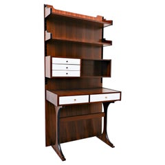 Mid-Century Modern Wall-Unit Desk Attributed to Sormani, Italy, 1960s
