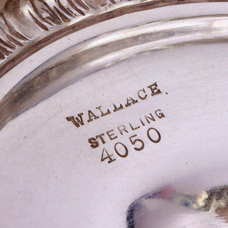 Wallace Sir Christopher Sterling Silver Tea and Coffee Pot Set 4050 For Sale 3
