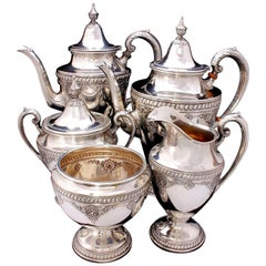 Wallace Sir Christopher Sterling Silver Tea and Coffee Pot Set 4050