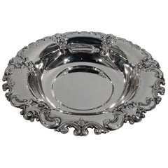 Wallace Sterling Silver Serving Bowl in Classic Grande Baroque Pattern