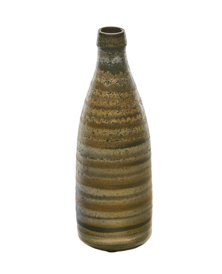 Swedish Wallåkra, Mid-century Stoneware Vase, Sweden, 1950s For Sale