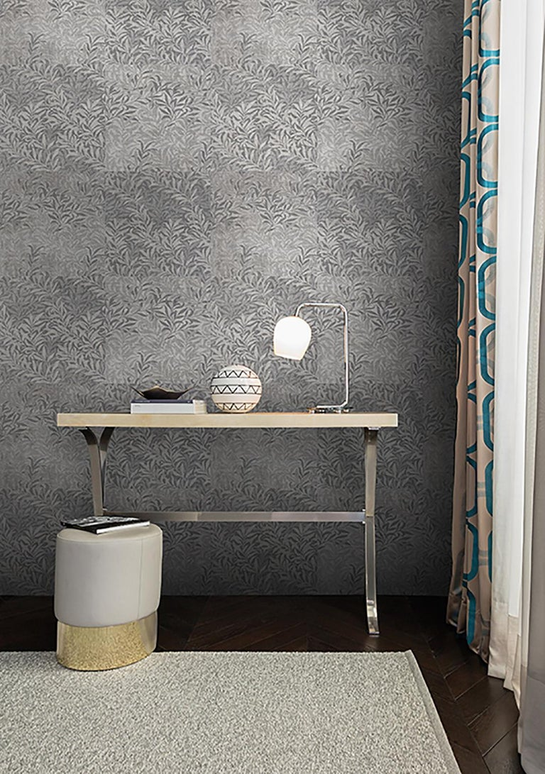 Wall&decò turns from photographs to wall paintings, from tromp-l'oeils to macro-designs on material backgrounds into a vertical wall pattern, with truly original visual effects.  Digital printed vinyl wallpaper with nonwoven backing  Roll size