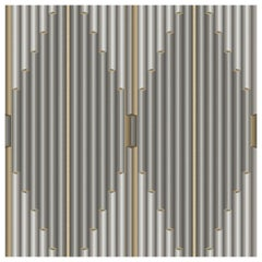 "Wall&decò Contemporary Wallpaper ""Pajlo"", Color Variant MOD_WDPA1802 Grey"