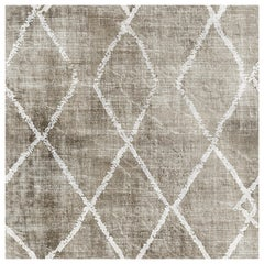 "Wall&decò Contemporary Wallpaper ""Signoria"", Color Variant MOD_WDSI1101 Grey On"