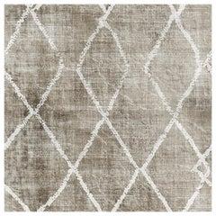 """Wall&decò Contemporary Wallpaper """"Signoria"""", Color Variant MOD_WDSI1102 White"""