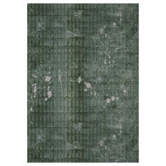 """Wall&decò Essential Wallpaper """"Alya"""", Color Variant 17310EWC Green with Light"""