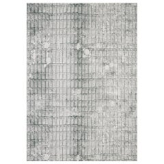 """Wall&decò Essential Wallpaper """"Alya"""", Color Variant 17330EWC Grey with White"""