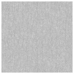 "Wall&decò Essential Wallpaper ""Vago"", Color Variant 17130EWC Silver Dots on Grey"