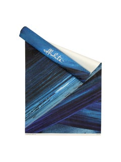 Off-White Wallpaper Brushes White Blue