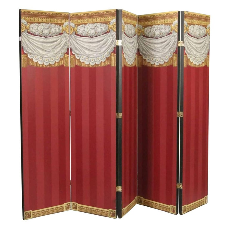 Wallpaper Neoclassical Screen For Sale