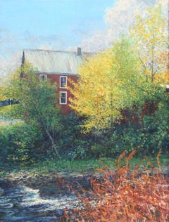 """Vermont Farmhouse"", Painting by Wally Ames"