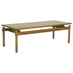 Walnut 1960s Coffee Table Model 748 by Ico Parisi for Cassina